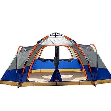 Bfull Instant Pop Up Camping Zelte f/ür 3-4 Personen Familie Kuppelzelte Wasserdicht Sonnenschutz Backpacking Wurfzelte Schnell Set-up f/ür Camping Wandern Outdoor Aktivit/äten