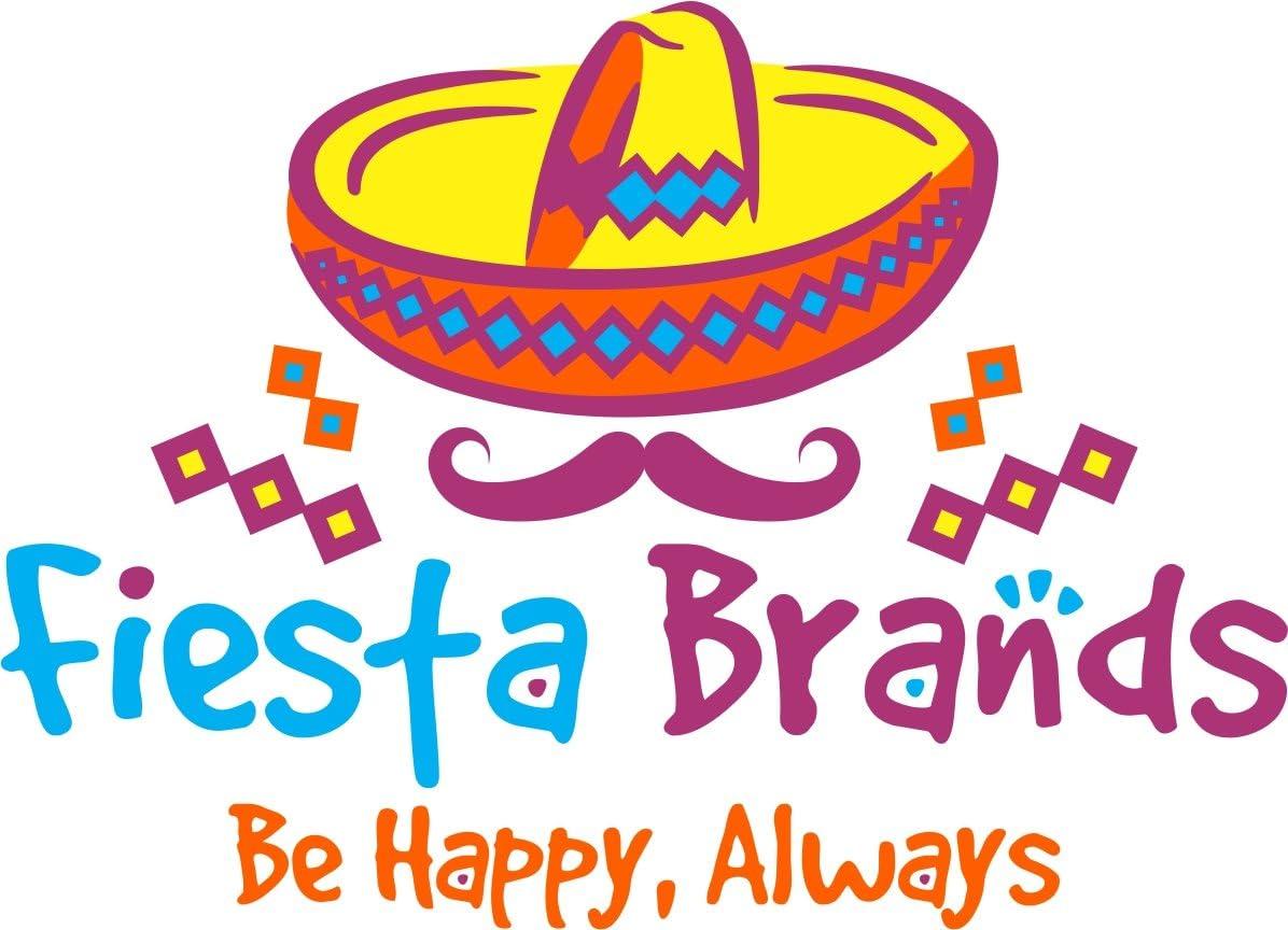 Fiesta Brands 30 Frontales Pack Altar de Ofrendas Dia de Muertos Day of The Dead Decoration Colorful Medium Size Tissue Paper Mexican Papel Picado.