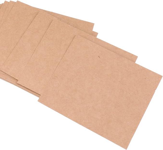 MagiDeal 50pcs Carte Marque Place en Karft Papier Vierge Carte de Nom Table avec Ficelle Jute D/écoration Mariage