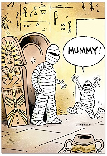 C1619MDG Mommy Mummy Unique Humor Mother's Day Greeting Card with Envelope for $<!--$4.25-->