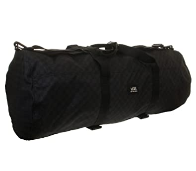 579b729c0ed255 Vans Black and Charcoal Grey Duffle Bag Midway Skate Duffel  Amazon.co.uk   Shoes   Bags