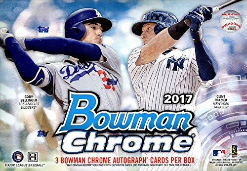 2017 Bowman Chrome Hobby Box HTA Choice 1 Pack of 3 Cards: All Autograph … from Chrome