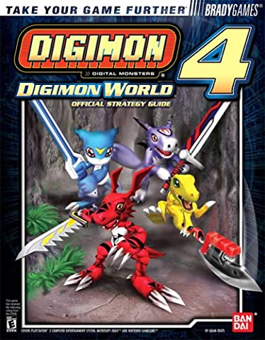 Digimon World 4 Official BradyGames Strategy Guide (Digimon Puzzle)