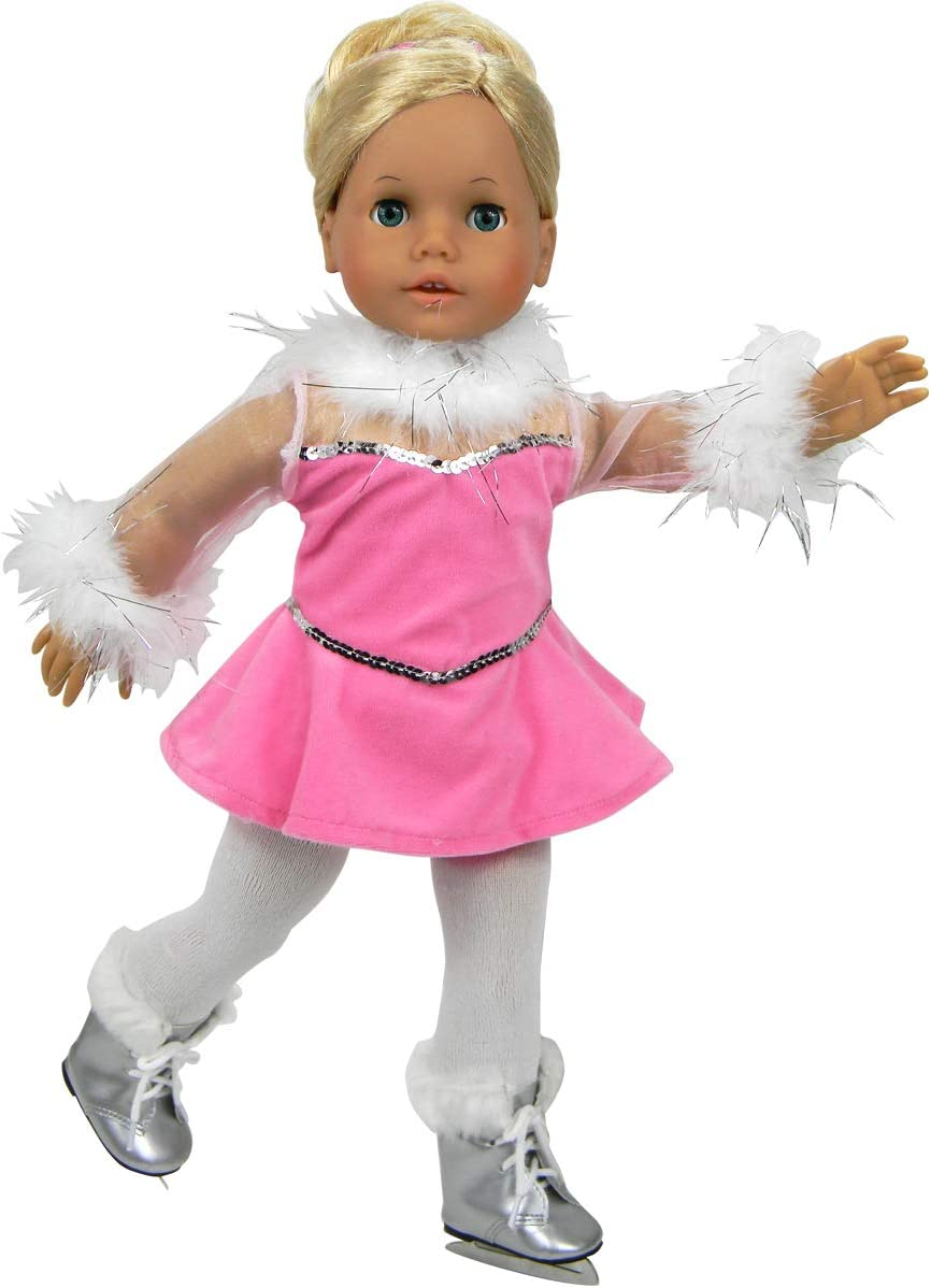 """BLACK CREAM// IVORY 3 Pack WHITE TIGHTS FOR 18-20/"""" DOLLS FITS AMERICAN GIRL"""