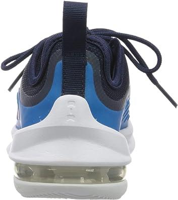 Nike Air Max Axis (PS), Basket Mixte Enfant, Bleu NuitHyper Crimson Laser Bleu, 35 EU
