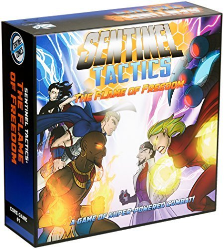 Sentinel Tactics The Flame of Freedom Board Game by Greater Than Games