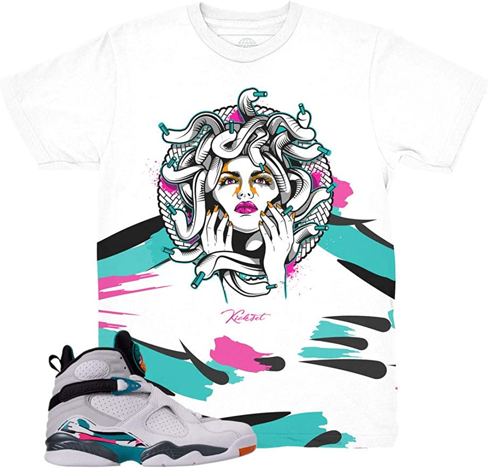 South Beach 8 Medusa Waves Shirt