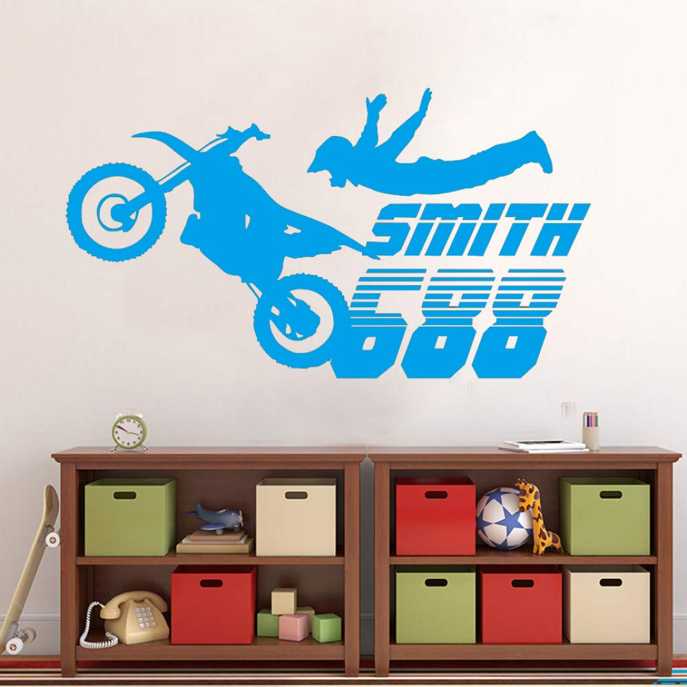 yiyiyaya Dirt Bike Motocross Motocicleta Pegatinas de Pared ...