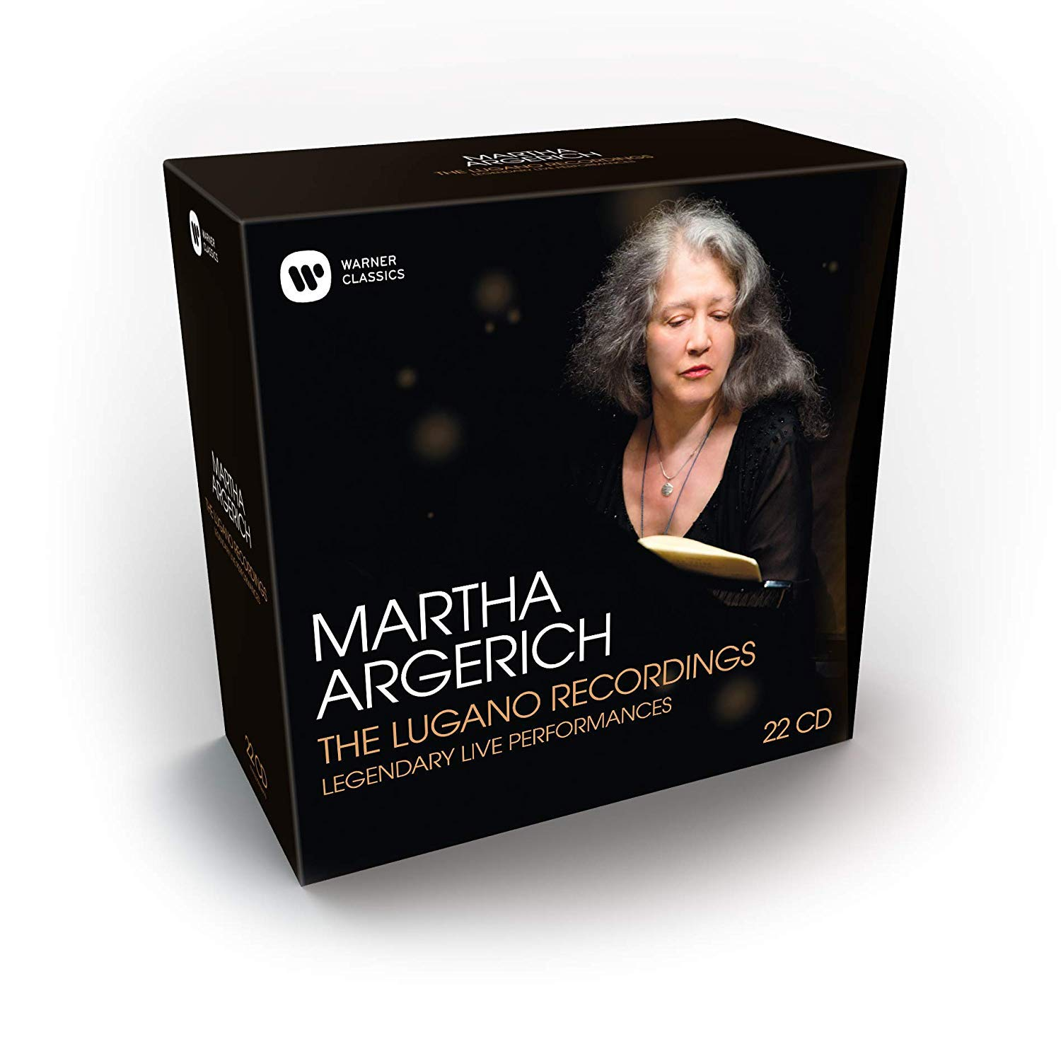 CD : Martha Argerich - Lugano Recordings (20PC)