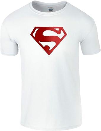 Super para hombre Boys Boy para mujer ropa de descanso para niñas Unisex T- camiseta de