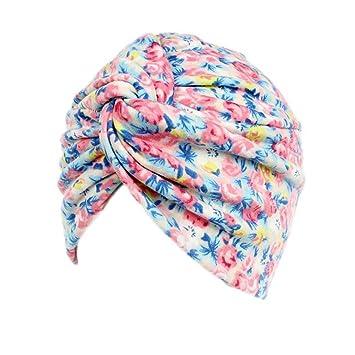 Amorar Unisex Turbante Sombrero de la Bufanda de la Cabeza Bandana Algodón Impreso Turbante Bufandapara el