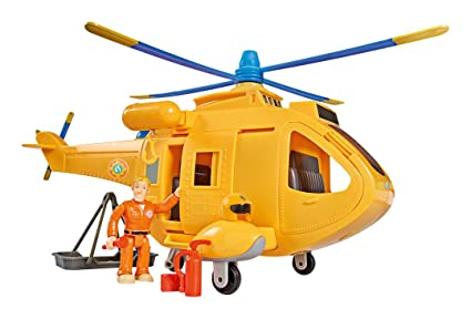 21 Figurine Helicoptere Smoby 109251002002 Sam Le Et Lumineuses Wallaby Fonctions Sonores Pompier iuwOkXPZT