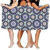 FbaPan Easy Islamic Art Over-Sized Cotton Bath Beach Travel Towels 31x51 Inch