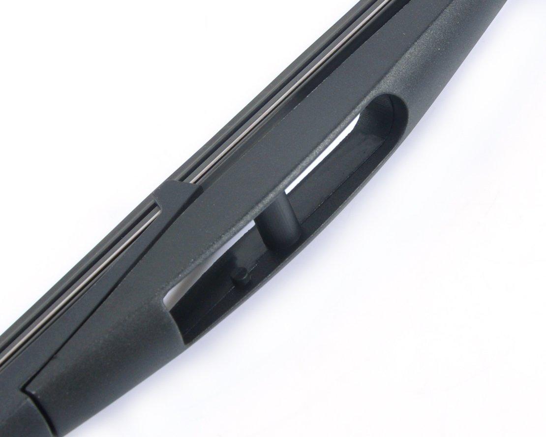 Front /& Rear kit of Aero Flat Windscreen Wiper Blades AD02-421|HQ10B