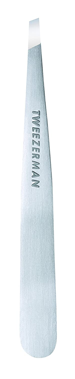 TWEEZERMAN Slant Tweezer Classic Stainless Steel, 0.8 Ounce 1231-R