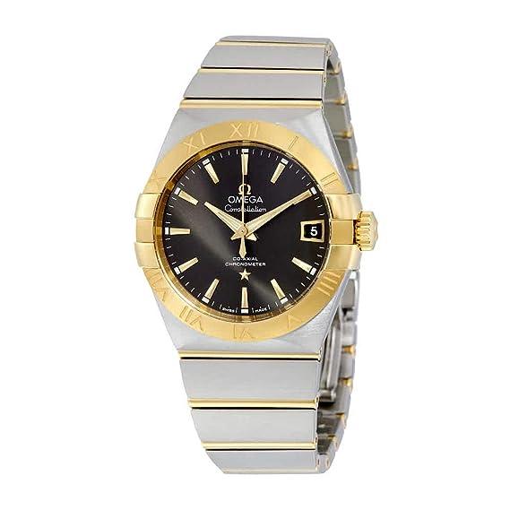 OMEGA Reloj DE Hombre AUTOMÁTICO 38MM Caja DE Acero 12320382106001: Omega: Amazon.es: Relojes