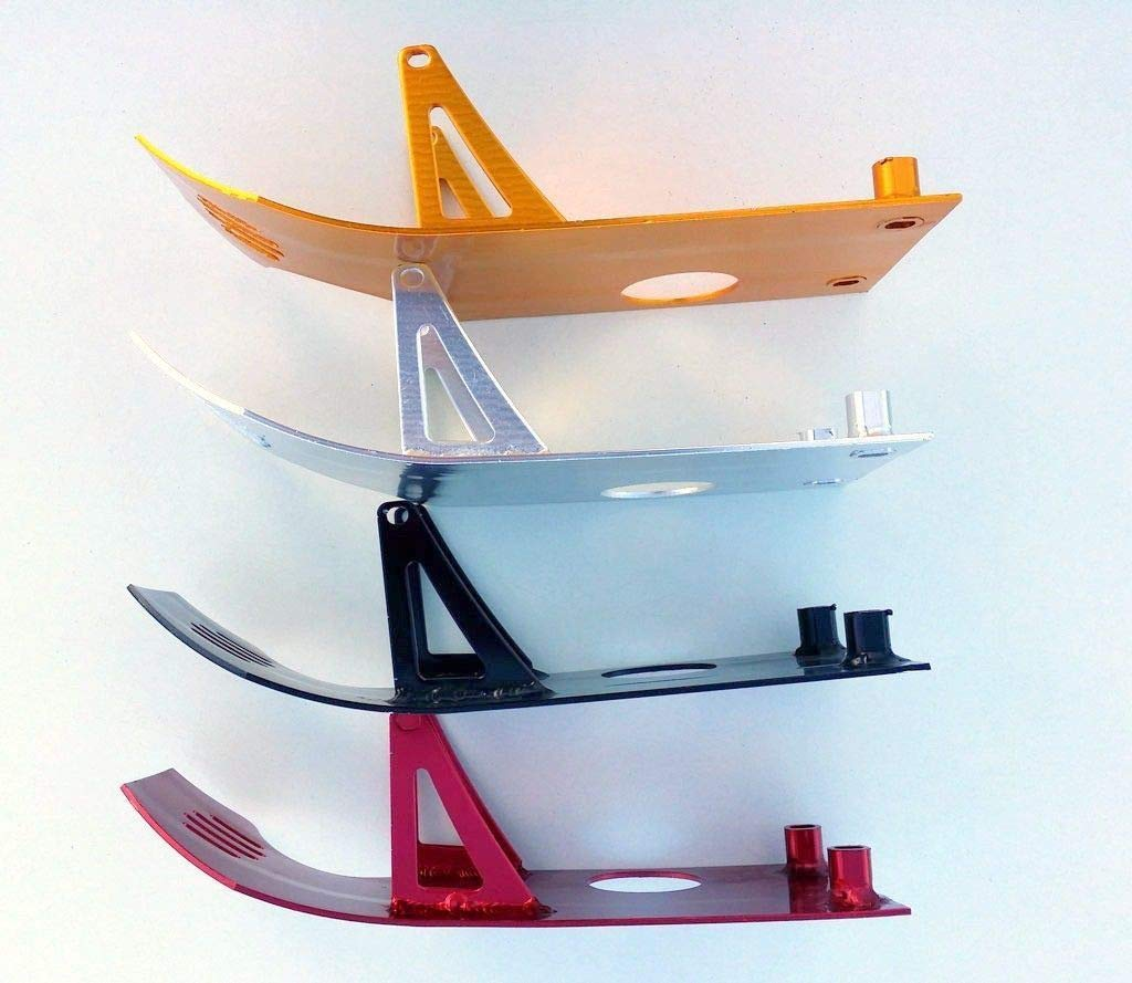 Universal Red Color Engine Skid Plate For Chinese Pit Dirt Bikes SDG