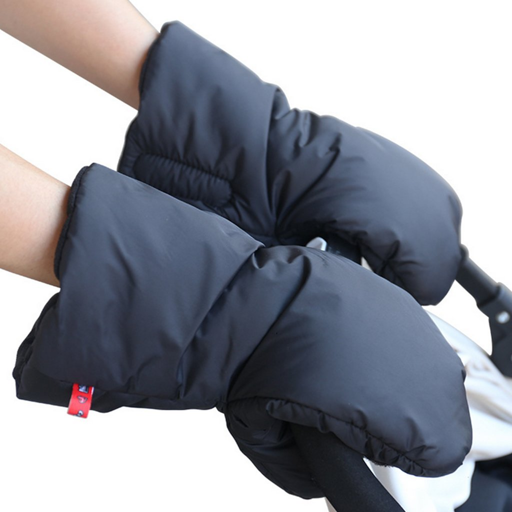 Baby Pushchair/Pram/Stroller Gloves, Waterproof Anti-freeze Extra Thick Gloves Baby Stroller Hand Muffs Stroller Accessories for Parents Vine Trading Co. Ltd E16111301001V