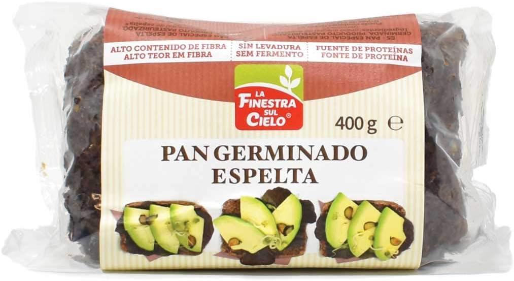 Pan germinado de espelta - La Finestra Sul Cielo - 400g