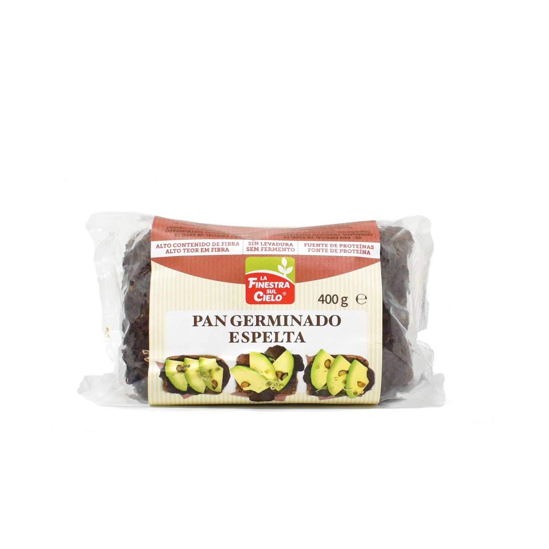 Pan de espelta germinada bio - caja de 8 uds de 400 gr ...