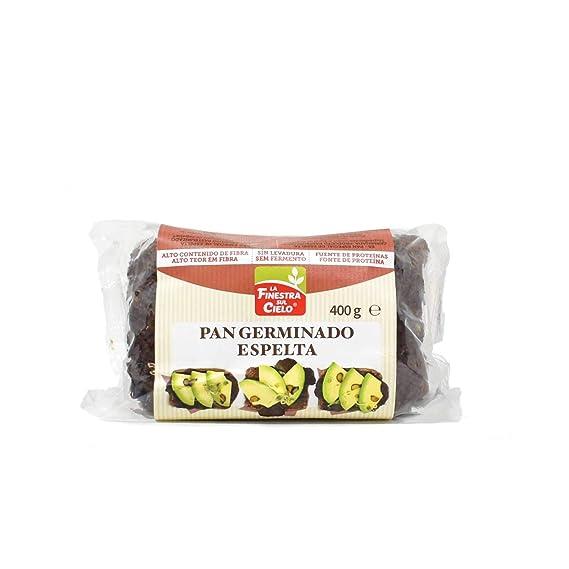 Pan de espelta germinada bio - caja de 8 uds de 400 gr. (Total