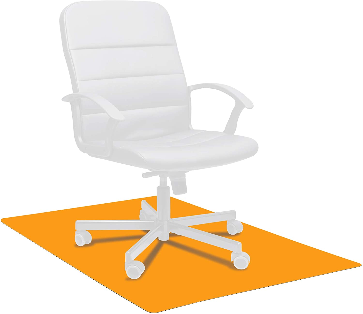 """Basics Polycarbonate Chair Mat For Hard Floors - 30"""" x 47"""" : Office Products"""