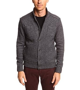 Devred - Gilet veste en laine bouillie homme XL  Amazon.fr ... 3fab7f58d965