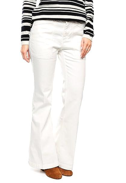 5b6b75e5c9 TOMMY HILFIGER Jeans Blancos Pantalones para Mujer Blanco Talla 25 ...