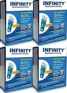 Amazon.com: Infinity Blood Glucose Test Strips 200 Ct
