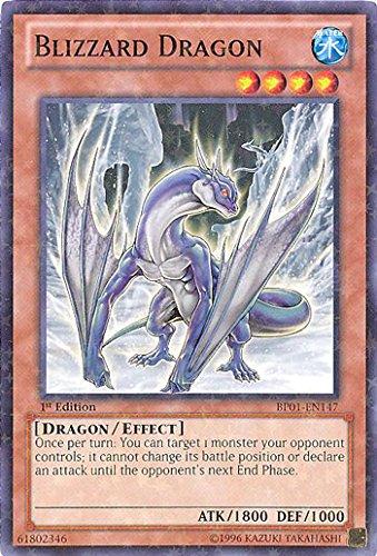 Amazon.com: Yu-Gi-Oh. – Blizzard dragón (bp01-en147) Battle ...