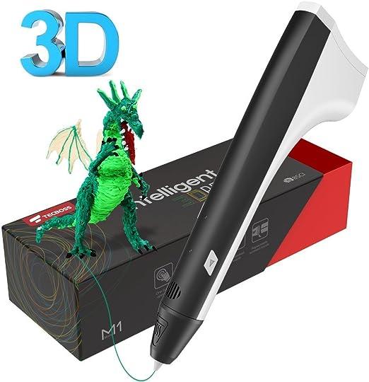 Pluma 3D, Tecboss Plumas para impresión 3D para Niños, compatible ...