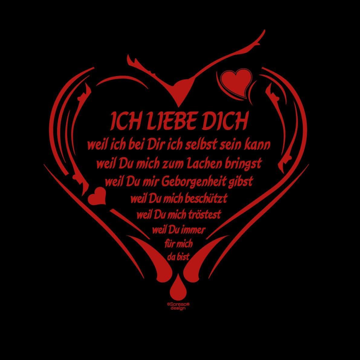 Soreso Design Ich Liebe Dich Kissen Inkl Fullung Romantische