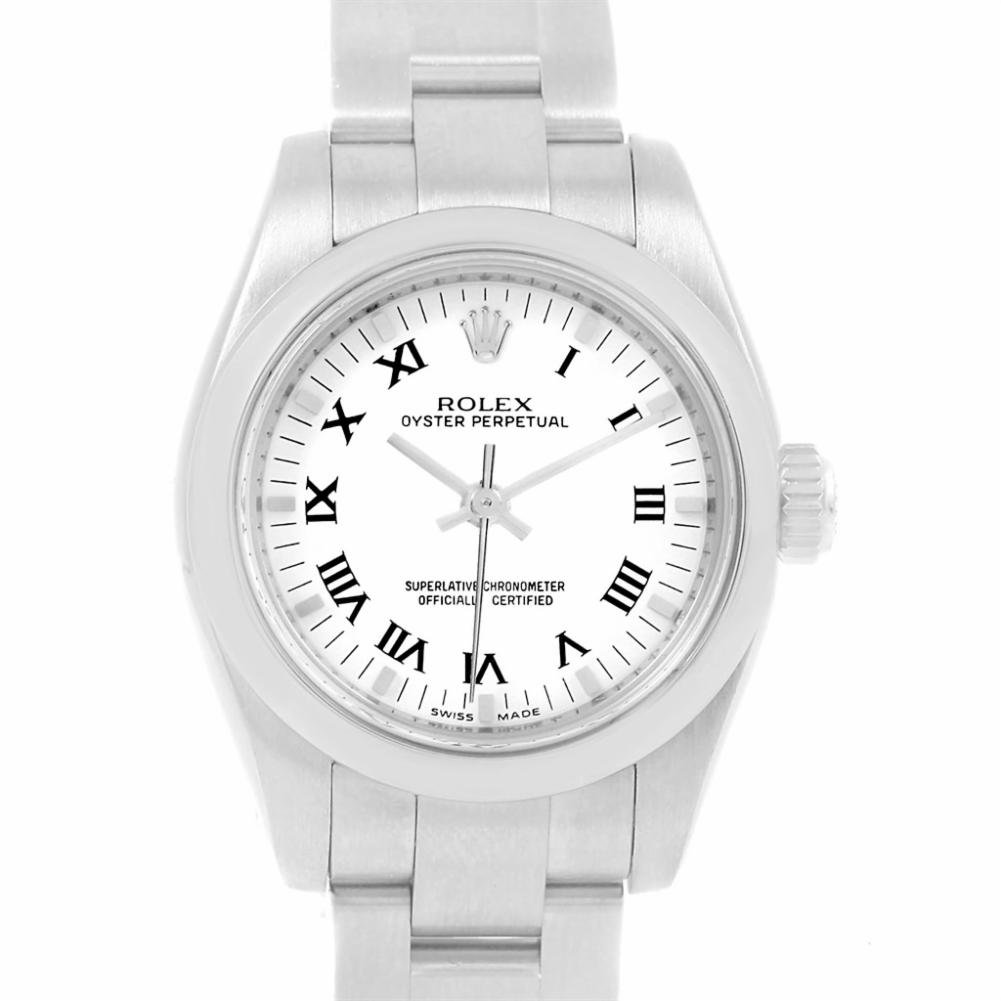 Rolex Oyster Perpetual automatic-self-wind womens Watch 176200 (Certified Pre-owned)