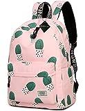 Water Resistant School Backpack for Teens, Cute Geometry Laptop Bag Girls Bookbag