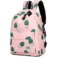 Water Resistant School Backpack for Teens, Cute Geometry Laptop Bag Girls Bookbag