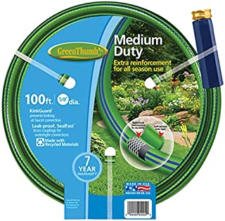 """product image for Green Thumb 8501-100 5/8"""" x 100' Nylon Reinforced Garden Hose"""