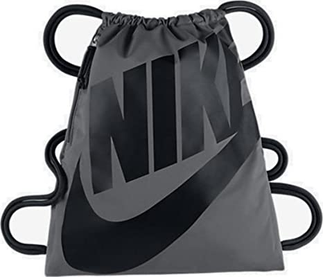 442f634322a5 Image Unavailable. Image not available for. Color  NIKE Heritage Drawstring  Gymsack Backpack ...