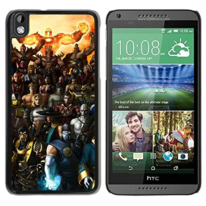 HTC Desire 816 case,Custom Mortal Kombat Armageddon Characters