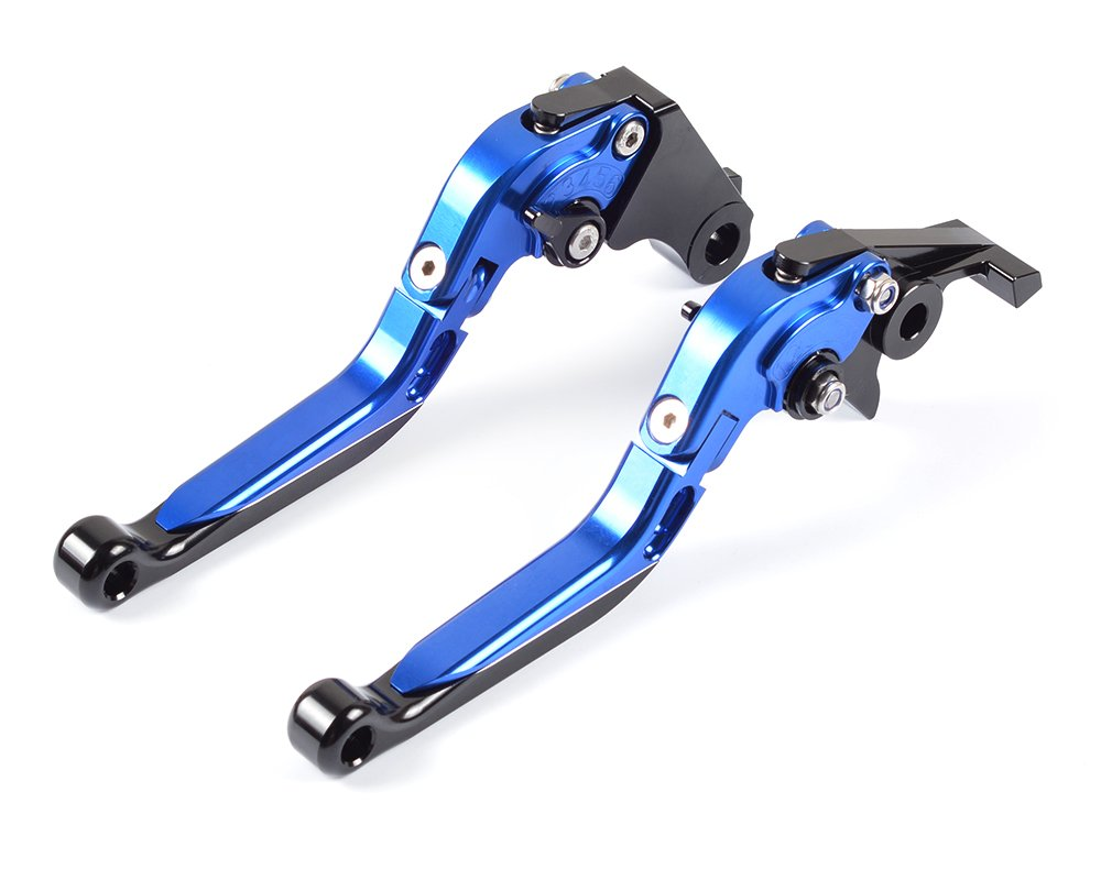 Tencasi Azul CNC Plegable Extensible Ajustable Palanca de embrague de freno para SFV650 GLADIUS 2009-2015: Amazon.es: Coche y moto