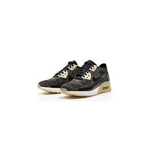 4d682760d0 Nike Women's WMNS Air Max 90 Ultra 2.0 FK MTLC, Black/Black, 4.5 UK:  Amazon.co.uk: Shoes & Bags
