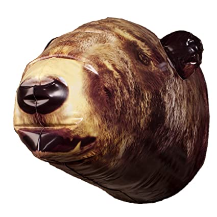 Amazon.com: DCI Inflatable Bear Head Wall Décor: Home & Kitchen