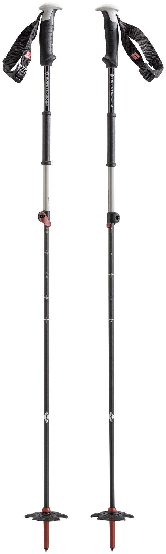 Black Diamond Razor Carbon Ski Poles Torch, 115-140cm by Black Diamond