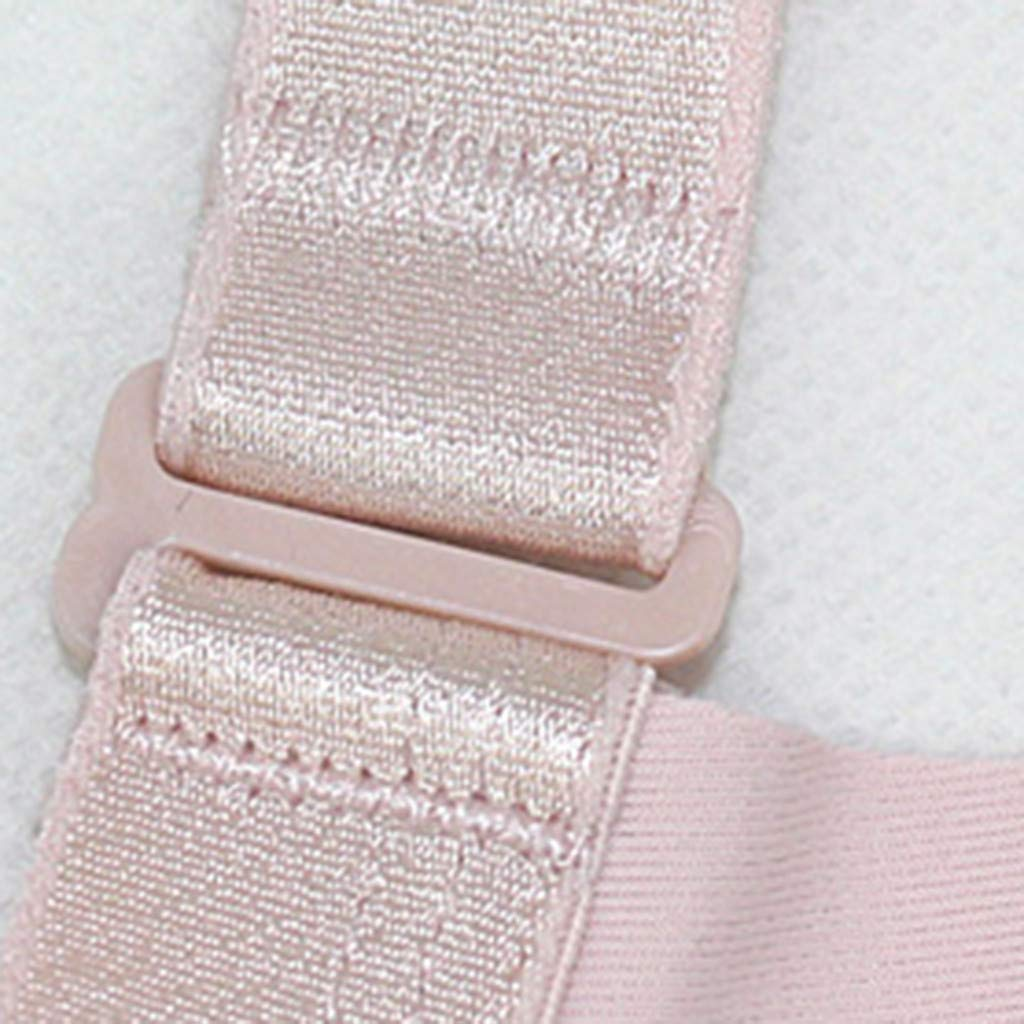 New Women Non-Steel Ring Gathered Massage Bra BC Thin Breathable Underwear