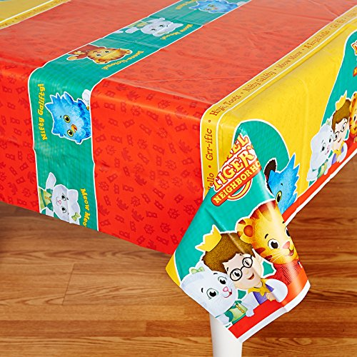 BirthdayExpress Daniel Tiger Party Supplies - Plastic Table Cover