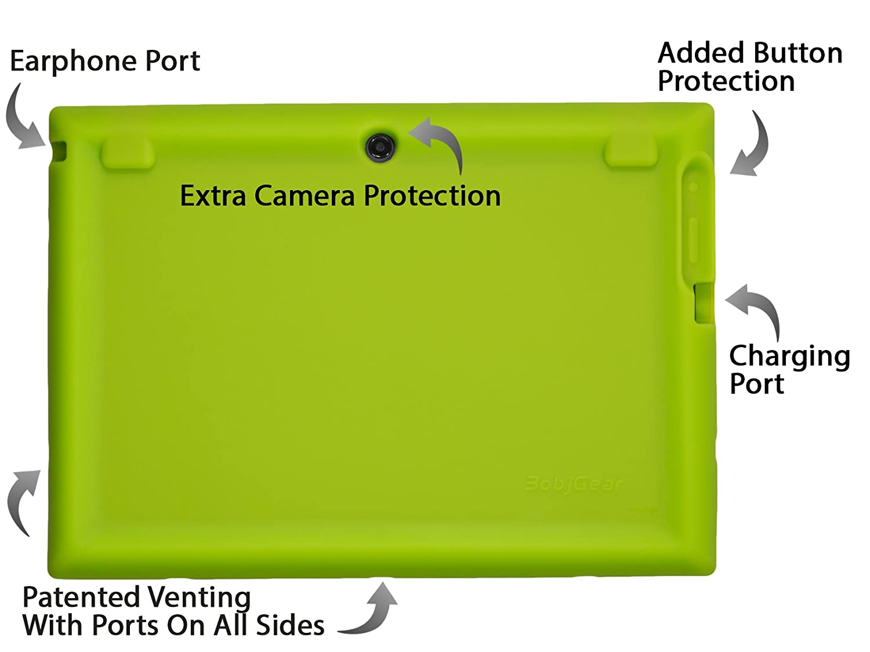 Bobj Funda Protectora BobjGear Carcasa Resistente para Tablet Lenovo 10 TB-X103F and Tab 2 A10-30 Verde Tab2 X30F