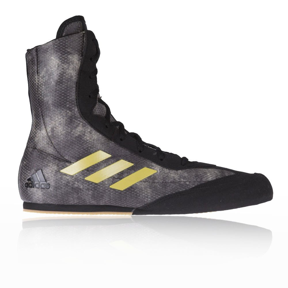 Adidas Box Hog Plus Boxeo Zapatillas - AW17 44 2/3 EU|Negro