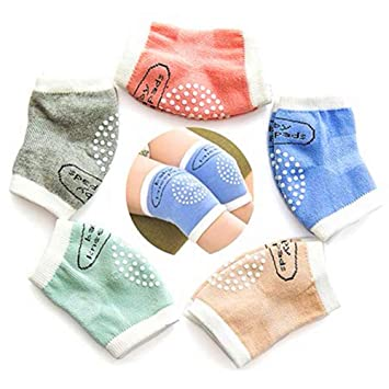 Comfortable Newborn Baby Knee Pad Kids Safety Breathable Crawling Elbow Knee Protective Pad Warmers for Infant Toddlers