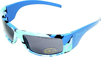 8385b972d46a Banz Sunglasses for Juniors 6 to 10 Years, Camo Blue: Amazon.co.uk: Baby