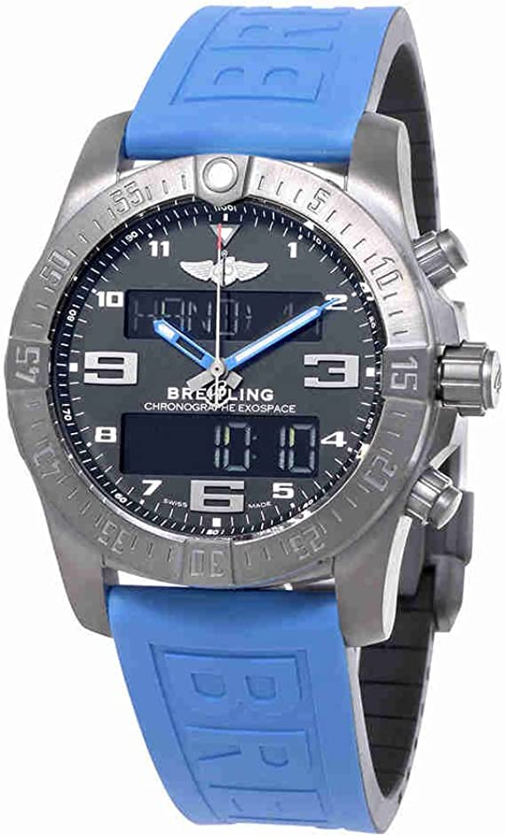 Breitling Exospace B55 Connected Blue Rubber Herren Armbanduhr Vb5510h2 Be45blpd3 Amazon De Uhren