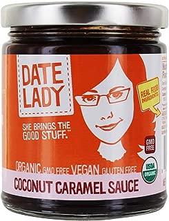 product image for Date Lady Organic Coconut Caramel Sauce | Vegan, Paleo, Gluten-free & Kosher (1 Jar)